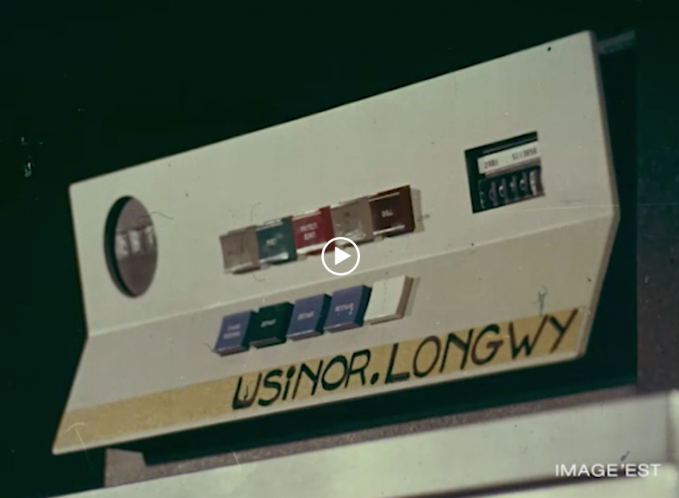 Film Usinor Longwy 1971